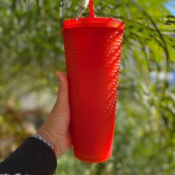 BRAND NEW Starbucks Red Studded Tumbler